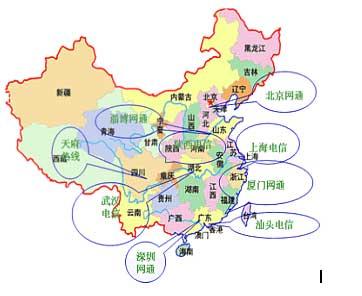 华东华南地图