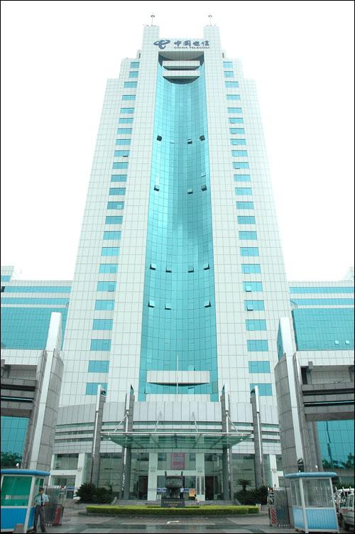 中国电信汕头互联网数据中心机房